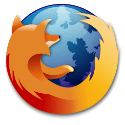 recreated Firefox logo, modified with trimmed fur