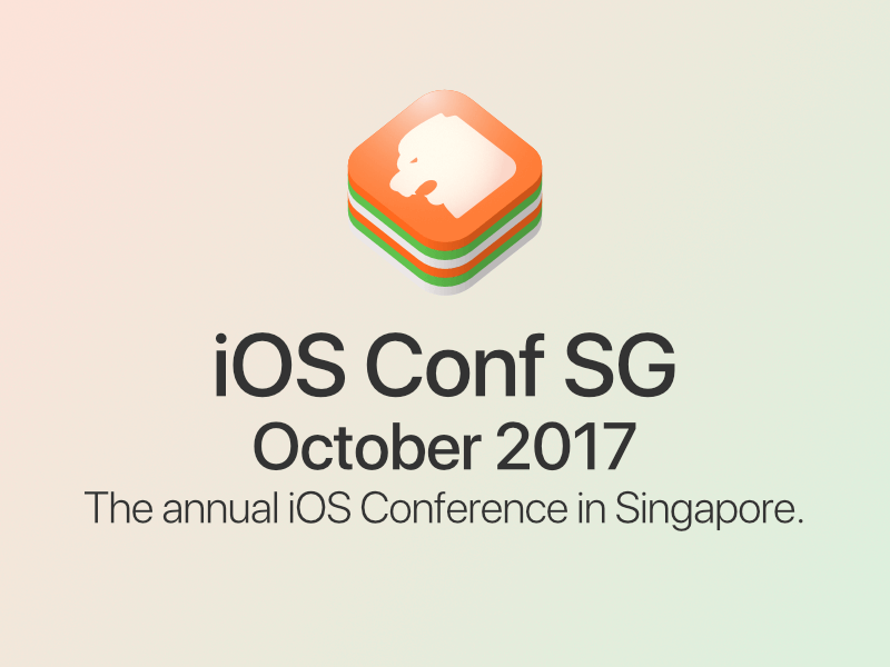 iOS Conf SG 2017 logo proposal