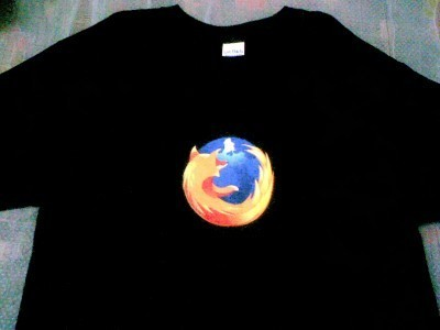 Firefox Black T-Shirt