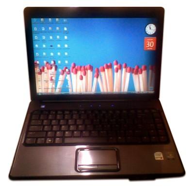 Finally, I got myself a new laptop! It's a HP Compaq Presario V3205TU,