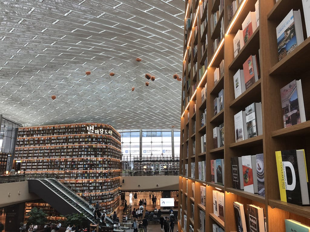 Starfield Library at Seoul
