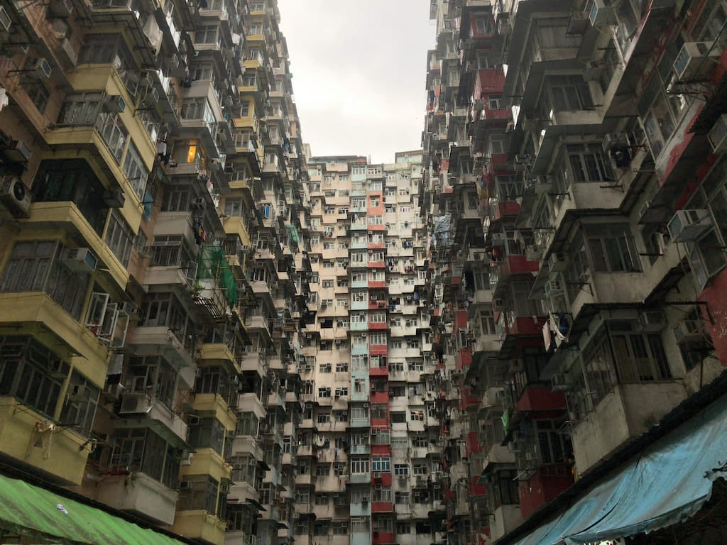 Yick Fat Building in Hong Kong
