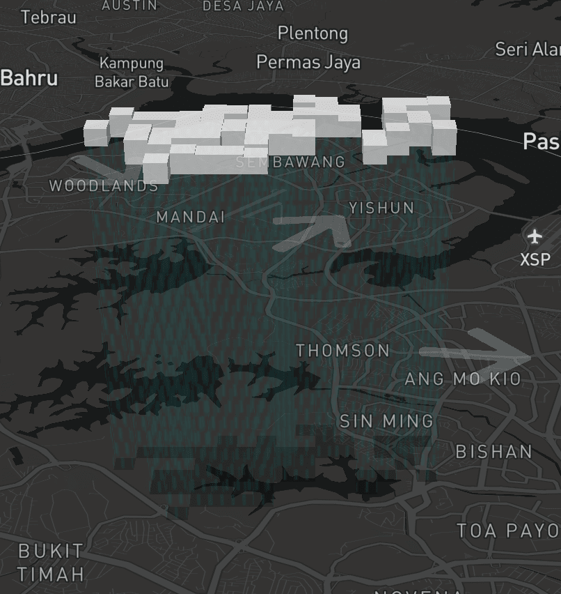 Check Weather SG, showing a 3D cloud with rain patterns and drop shadow
